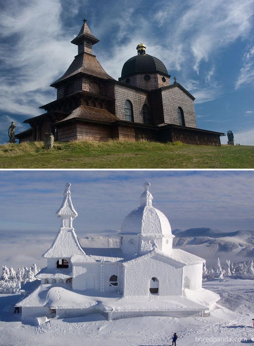 Montanha de Radhost, República Checa