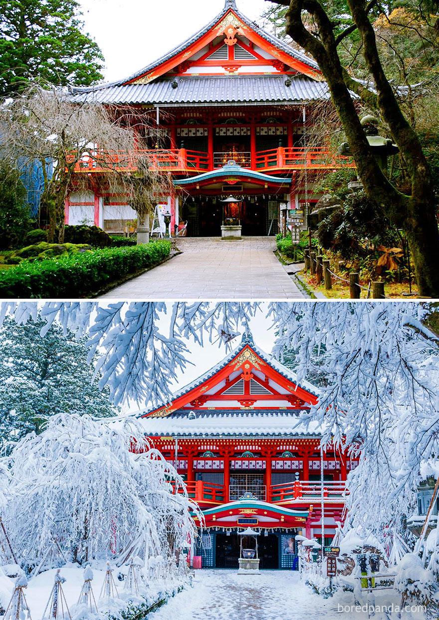 Templo Natadera, Komatsu, Japão