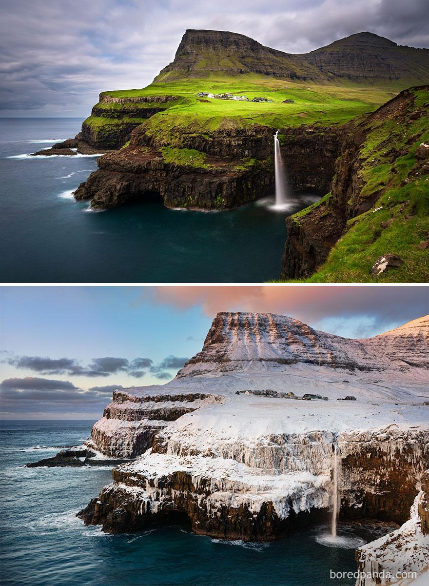 Gásadalur, Ilhas Feroe