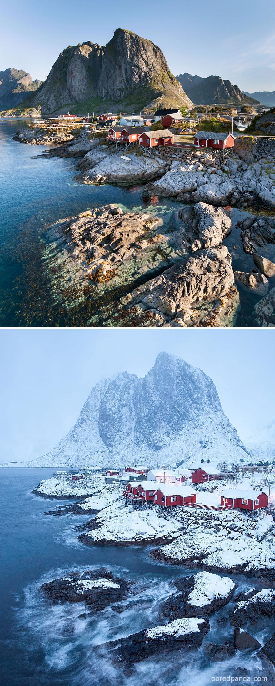 Hamnøy, Noruega