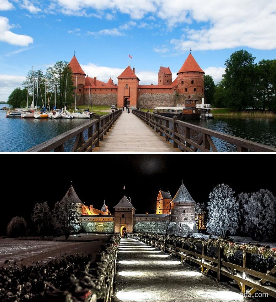 Castelo da Ilha Trakai, Lituânia