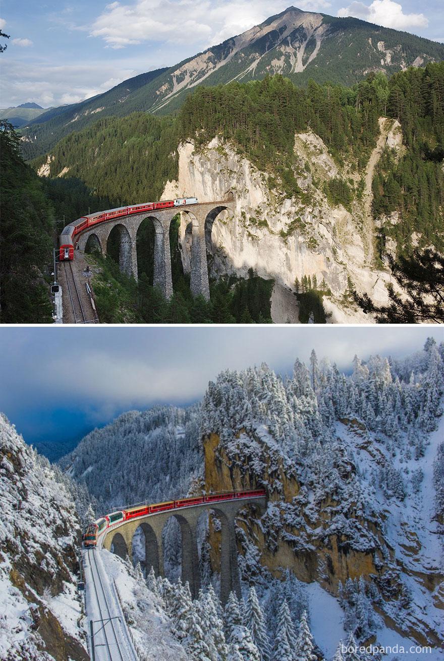 Viaduto de Landwasser, Suiça
