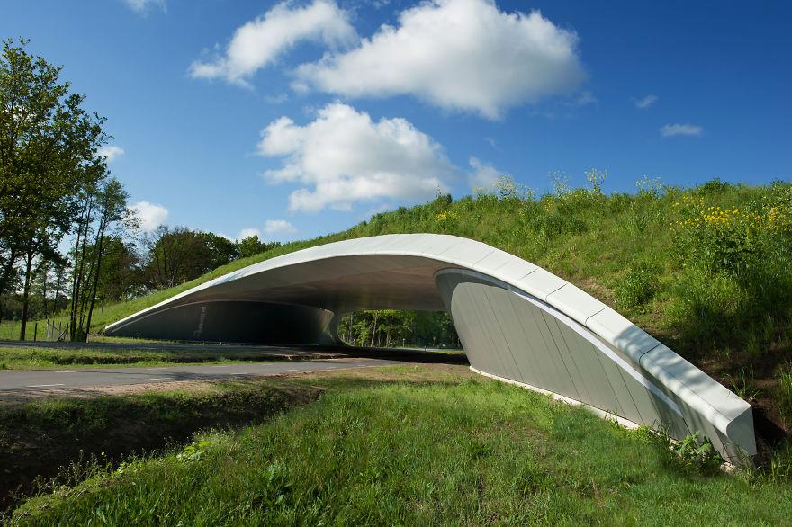 Ecoduto em Overijssel na Holanda