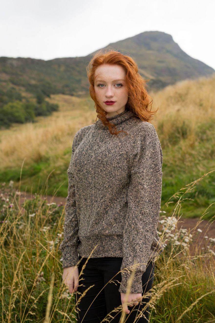 Sophie, de Stirling na Inglaterra