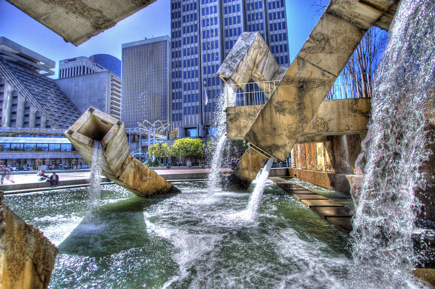 Fonte Vaillancourt em São Francisco, nos EUA