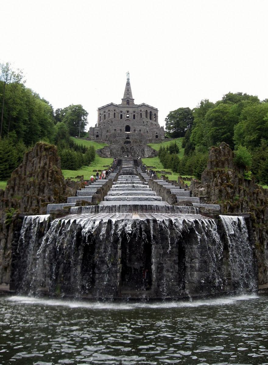 Cascatas de Hércules em Kassel, na Alemanha