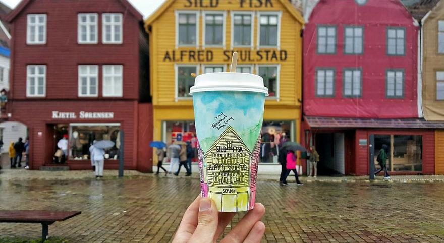 Bergen na Noruega
