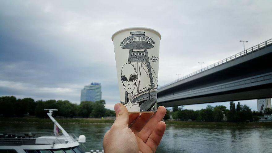 Ponte UFO de Bratislava