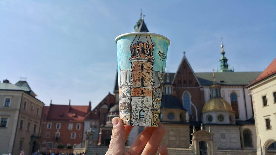 Castelo Real de Wawel, na Cracóvia, Polônia